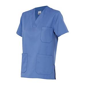 Camisola de pijama sanitario Velilla - azul - talla 10