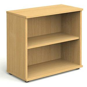 Bookcase Beech 2 Shelf 800mm