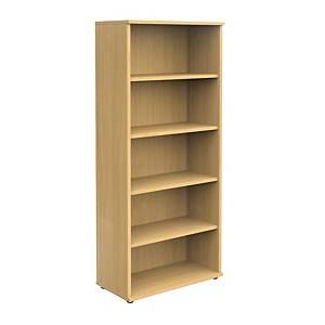 Bookcase Beech  5 Shelf 2000mm