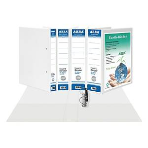 ABBA A4 2D Ring Binder PVC 50MM White