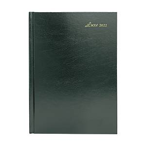 Luxe 41C Diary One Day/Page A4 Green
