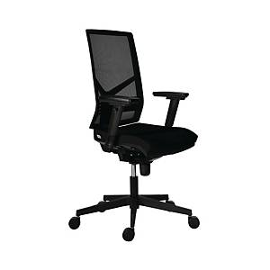 SYN OMNIA 1850 irodai szék, fekete, karfák nélkül