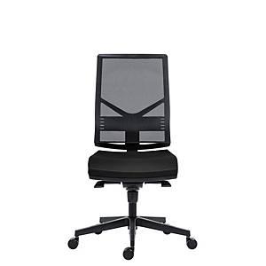 Kancelárska stolička Antares 1850 Syn Omnia čierna, bez opierok na ruky