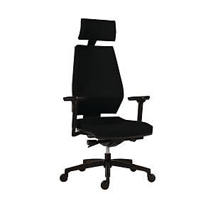 Kancelárska stolička Antares 1870 Syn Motion PDH, čierna