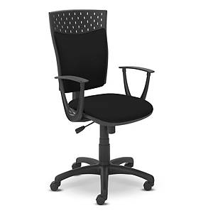 Kancelářská židle Dekora, tmavě šedá