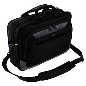 Laptoptasche Targus TCG460EU, City Gear, 13-15,6 Zoll, Polyester, schwarz/grau