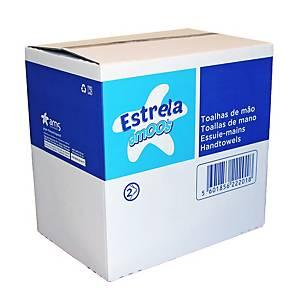 Pack de 20 paquetes de toallas secamanos Amoos - 160 hojas - V - 2 capas