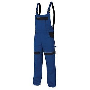 Pracovné nohavice s náprsenkou Ardon® Cool Trend, veľkosť 54, modré