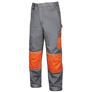 ARDON 2Strong work trousers, grey/orange, size 54