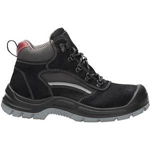 Bezpečnostná členková obuv Ardon® Gear, S1P SRC, veľkosť 39, čierna
