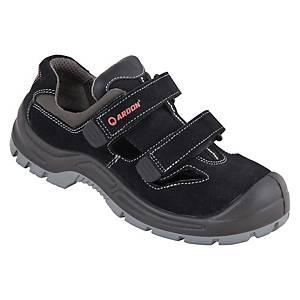 Bezpečnostné sandále Ardon® Gearsan, S1 SRC, veľkosť 39, čierne