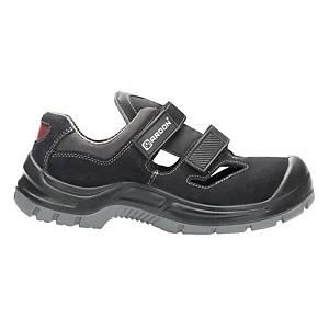 Ardon® Gearsan Sicherheitssandalen, S1 SRC, Größe 43, schwarz