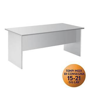 Scrivania TDM linea Open L 160 x P 80 x H 73 cm bianco