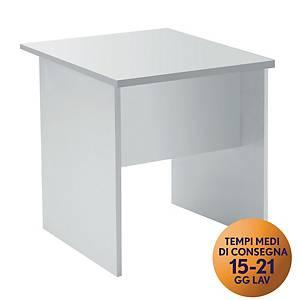 Tavolo portacomputer TDM linea Open L 80 x P 80 cm bianco