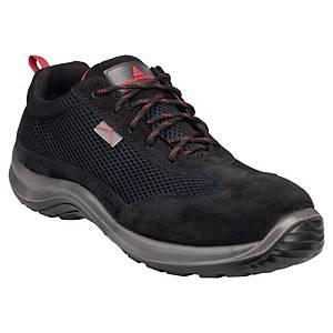 Bezpečnostná obuv Deltaplus Asti, S1P SRC, veľkosť 43, čierna
