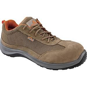 Chaussures de sécurité basses Deltaplus Asti S1P - beiges - pointure 40