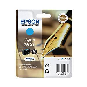 Epson 16XL inkt cartridge, cyaan, hoge capaciteit