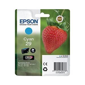 Epson C13T29824010 inkjet cartridge blue [3,2 ml]