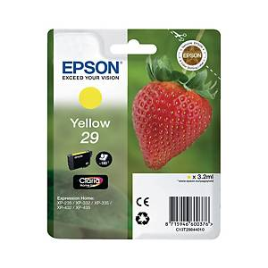 Epson C13T29844010 cartouche jet d encre jaune [3,2 ml]