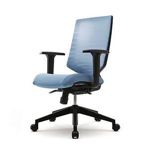 [직배송]시디즈 의자 TN302A 블루 헤드 미포함