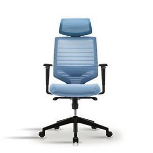 [직배송]시디즈 의자 TN302HA 블루 헤드 포함