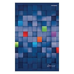 Blok notatnikowy TOP-2000 Office, A4, kratka, 100 kartek, klejony*