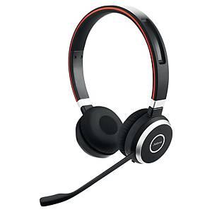 Jabra Evolve 65MS Headset ohne Kabel, Bluetooth, Geräuschunterdrückung