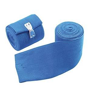 Laccio emostatico piatto PVS in nitrile blu
