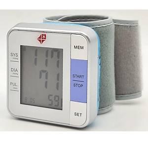 Sfigmomanometro digitale da polso per misurazione pressione
