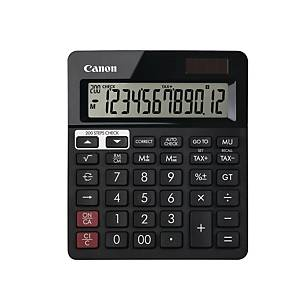 CANON AS288R BLACK DESKTOP CALCULATOR 12 DIGIT