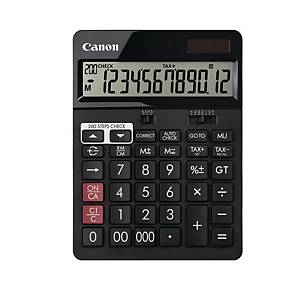 CANON AS2288R BLACK DESKTOP CALCULATOR 12 DIGIT