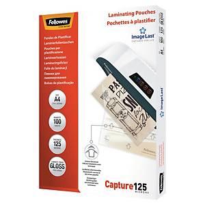Fellowes 5307407 pochettes pour plastification chaud A4 250 mic - boîte de 100