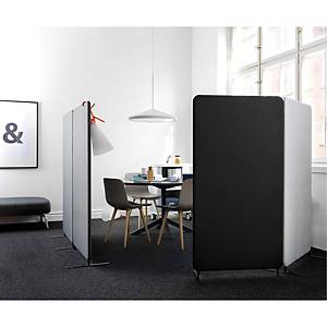 SOFTLINE 30 SCREEN FLOOR 80X150X3 CM BLK