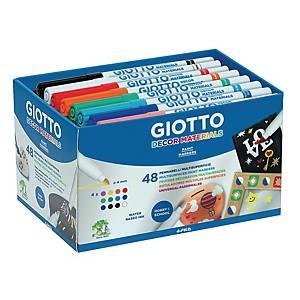 Giotto décor marqueurs - le paquet de 48