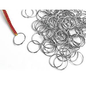 Anneaux pour clés Colorations, 25 mm, les 144 anneaux pour clés