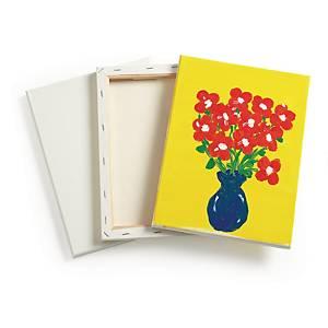 Colorations toile cadre en bois 23 x 30,5 cm - le paquet de 6