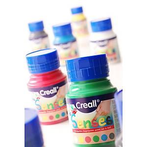 Creall Senses peinture à doigt couleurs assorties - 500 ml - le paquet de 6