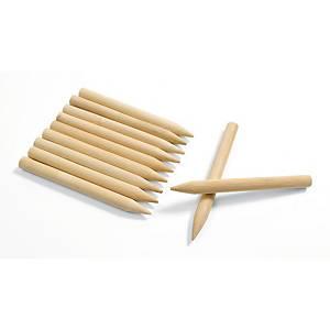 Bâtonnet à gratter en bois - le paquet de 48