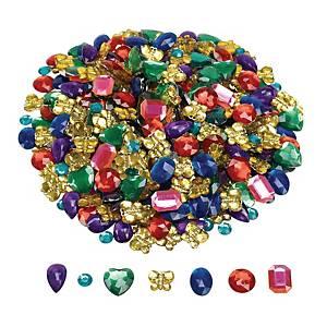 Colorations pierres décoratives couleurs assorties - le paquet de 700