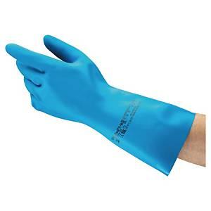 Gants chimiques Ansell 37-501, enduction nitrile, taille 10,5, par 12 paires