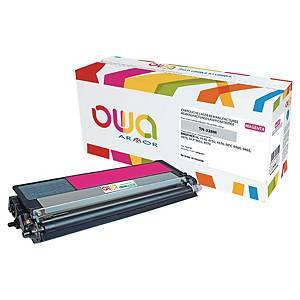 Cartouche de toner Owa compatible équivalent Brother TN328M - magenta