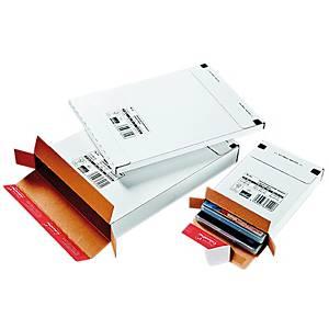 Postituslaatikko CP65 tarrasuljenta 150 x 230 x 27mm valkoinen