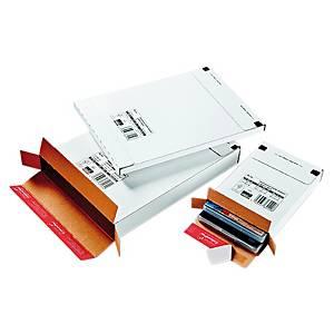 Postituslaatikko CP65 tarrasuljenta 240 x 340 x 27mm valkoinen
