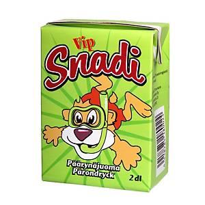 Vip Snadi päärynämehu 2dl, 1 kpl=10 mehua