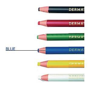Ringo Dermatograph Blue Colour Pencil 1.0mm Line Width