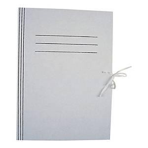 Teczka kartonowa wiązana KIEL-TECH 1-W0001/5/1, A4, biała