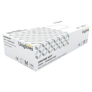 Gants Unigloves UCV 1203 - vinyle - taille L - 100 gants