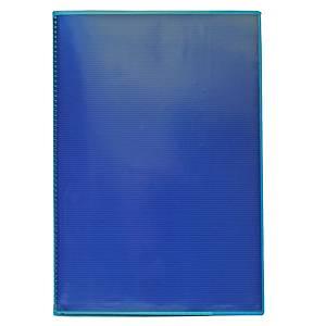 Vihkon suojakansi A4 muovi sininen, 1 kpl=30 kantta