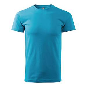 Koszulka MALFINI BASIC, turkusowa, rozmiar M