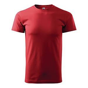 Koszulka MALFINI BASIC, czerwona, rozmiar L